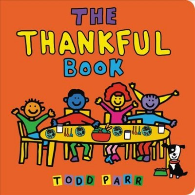 The Thankful Book - Todd Parr (Hardcover)