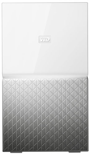 WD My Cloud Home Duo 6TB Ethernet LAN White Personal Cloud Storage Device