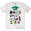 Green Day Dookie RRHOF Mens White T-Shirt (XX-Large)