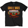 Guns N' Roses Welcome to the Jungle Las Vegas Sign Mens Black T-Shirt (Small)