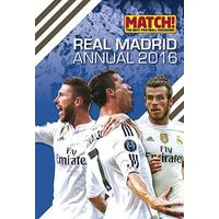 REAL MADRID ANNUAL 2016 (Hardcover)