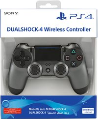 Sony - PlayStation Dualshock 4 Controller (NEW VERSION 2) - Steel Black (PS4) - Cover