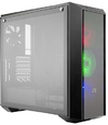 Cooler Master - Pro 5 RGB ATX Desktop Chassis Tempered Glass Window - Black (No PSU)