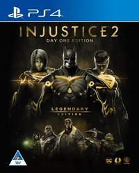 Injustice 2 - Legendary Edition (PS4) - Cover