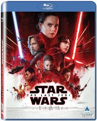 Star Wars: The Last Jedi (Blu-ray) - Cover