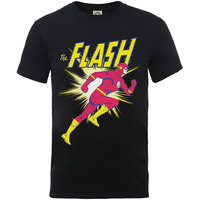 DC Originals Flash Running Boys Black T-Shirt (5 - 6 Years) - Cover