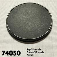 Reaper Miniatures - Round Gaming Bases - 55mm (10) (Miniatures)