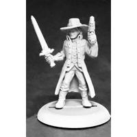 Savage Worlds - Rippers: Witch Hunter (male) (Miniatures)