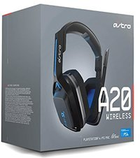 ASTRO GAMING - A20 Wireless Headset - Grey/Blue (PC/Gaming)