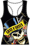 Guns N' Roses - Skull and Guns Oversize Women's Vest (Large)