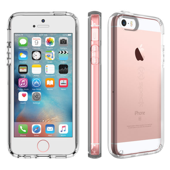 factory authentic 39ff0 938d9 Speck CandyShell Clear Case –for Apple iPhone 5/5S/Se - Clear