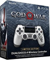 Sony - PlayStation Dualshock 4 Wireless Controller V2 God of War - Silver Limited Edition (PS4)