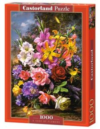 Castorland - A Vase of Flowers Puzzle (1000 Pieces) - Cover