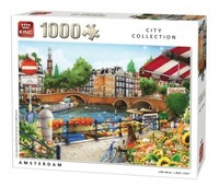 King Puzzle - Amsterdam Puzzle (1000 Pieces) - Cover
