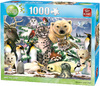 King Puzzle - Animal World - Arctic Life Puzzle (1000 Pieces)
