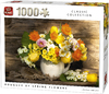 King Puzzle - Spring Flowers Puzzle (1000 Pieces) Cover
