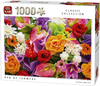 King Puzzle - Classic - Bed of Flowers Puzzle (1000 Pieces) Cover