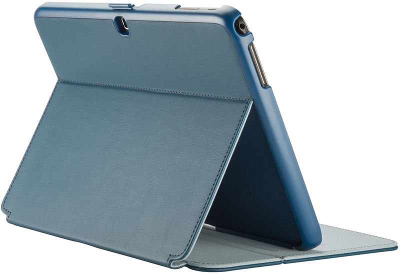 free shipping 74777 1536f Speck Stylefolio Tablet Case for Samsung Galaxy Tab 4 10.1 Inch - Blue and  Grey