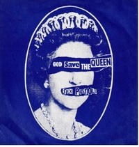 Sex Pistols - God Save the Queen Canvas - Cover