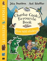 Charlie Cook's Favourite Book Sticker Book - Julia Donaldson (Paperback) - Cover