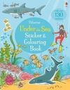 Under the Sea Sticker and Colouring Book - Jessica Greenwell (Paperback)