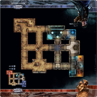 Star Wars: Imperial Assault - Skirmish Map - Mos Eisley Back Alleys (Board Game) - Cover