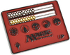 Ultra Pro - Card Size Abacus Life Counter for Magic: The Gathering - Red Cover