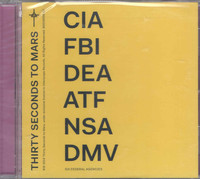 Thirty Seconds to Mars - America (CD) - Cover