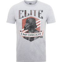 Rogue One Elite Enforcer Boys Grey Marl T-Shirt (12-13 years) - Cover