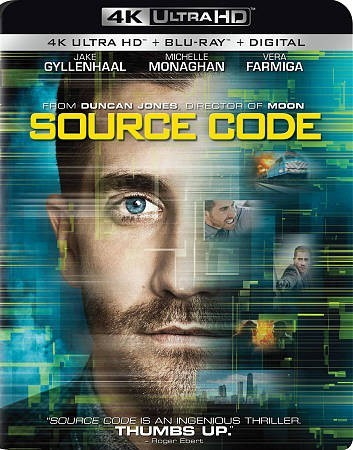Source Code (Region A - 4K Ultra HD + Blu-Ray)