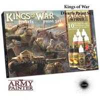 Army Painter - Kings of War Dwarfs Paint Set (Model Paints)