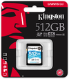 Kingston Technology - 512GB Canvas Go! SDXC Class 10 Memory Card