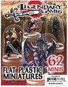 ArcKnight - Flat Plastic Minis: Legendary Games (Role Playing Game)