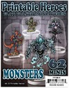 ArcKnight - Flat Plastic Minis: Print: Monsters Pack (Role Playing Game)