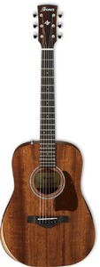 Ibanez AW54JR-OPN Artwood Series Dreadnought Junior Acoustic Guitar with Bag (Open Pore Natural)