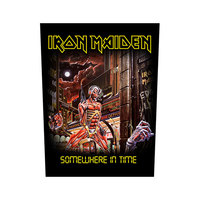 Iron Maiden - Somewhere In Time (Back Patch) - Cover