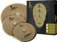Zildjian LV348 L80 Low Volume Series L80 Low Volume Cymbal Set (13 14 and 18 Inch)
