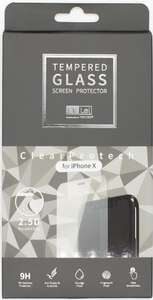 Mr. Lei - 2.5D 0.33mm Tempered Glass Protector iPhone X - Clear - Cover