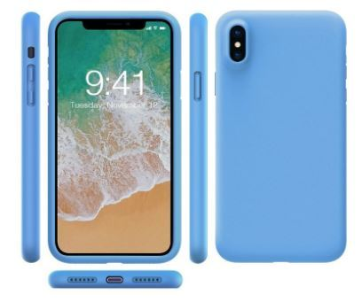 the latest 95ada 7e45c Mr. Lei - Flexo Silicon Soft Case 2mm iPhone X - Sky Blue