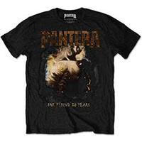 Pantera Original Mens Black T-Shirt (Large)