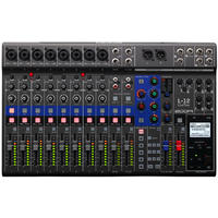 Zoom L-12 Livetrak 12 Channel Digital Mixer (Black)