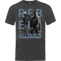 Rogue One Rebel Alliance Boys Charcoal T-Shirt (9 -11 Years) - Cover