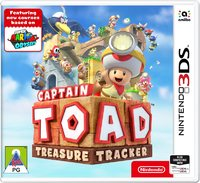 Captain Toad: Treasure Tracker (3DS) - Cover