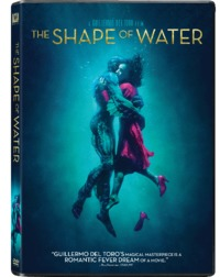The Shape of Water (DVD) - Cover