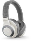 JBL E65BTNC Wireless Over-Ear Noise Cancelling Headphones (White)
