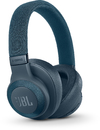 JBL E65BTNC Wireless Over-Ear Noise Cancelling Headphones (Blue)