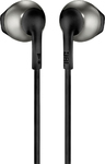JBL T205 Earbud In-Ear Headphones (Black)