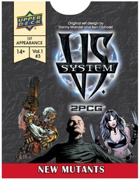 VS System 2 Player Card Game - New Mutants Expansion (Card Game) - Cover