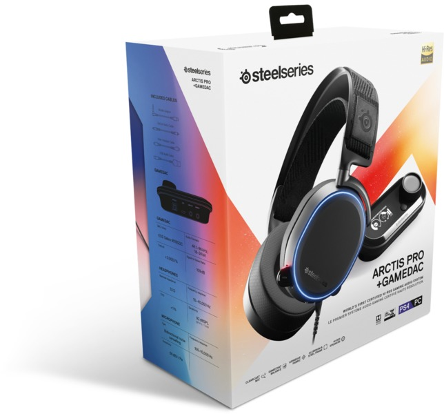 ba360dc901e SteelSeries - Arctis Pro + GameDAC Gaming Headset (PC/PS4/Xbox One ...