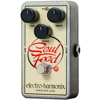 Electro-Harmonix SOUL FOOD Transparent Overdrive Nano Pedal with PSU